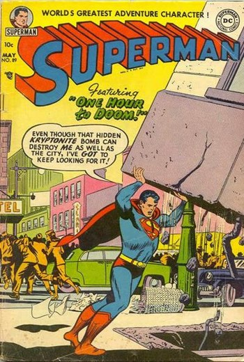 One Hour To Doom!—Superman (DC, 1939 series) #89  (May 1954)