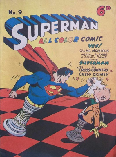 Superman All Color Comic (KG Murray, 1948 series) #9 ([February 1948?])