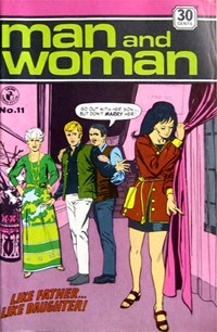 Man and Woman (Colour Comics, 1969? series) #11 ([April 1972?])