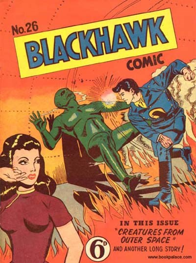 Blackhawk Comic (Youngs, 1948 series) #26 ([January 1951?])