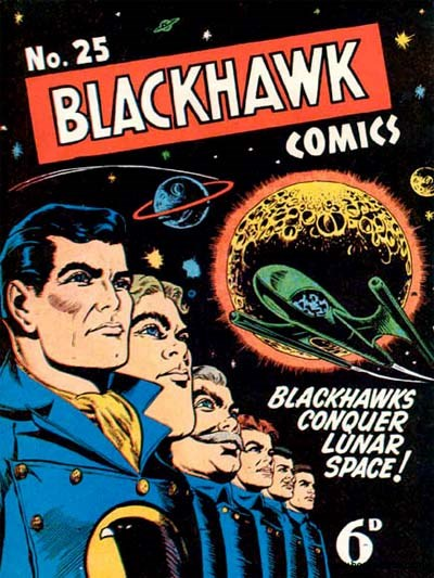 Blackhawk Comic (Youngs, 1948 series) #25 ([June 1951?])