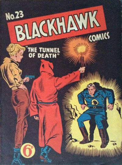 Blackhawk Comic (Youngs, 1948 series) #23 ([April 1951?])