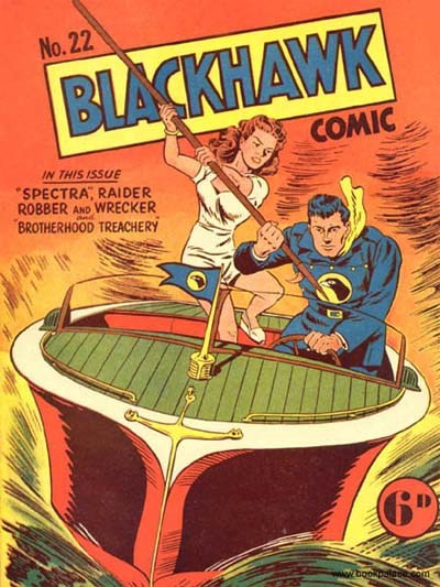 Blackhawk Comic (Youngs, 1948 series) #22 ([September 1950?])