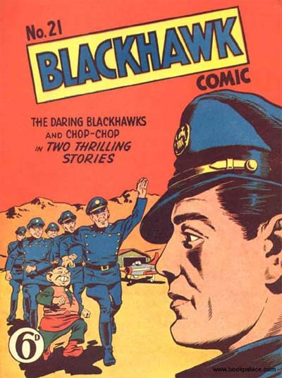 Blackhawk Comic (Youngs, 1948 series) #21 ([August 1950?])