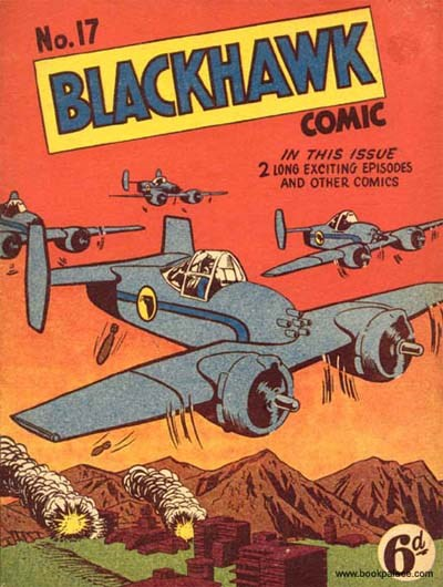 Blackhawk Comic (Youngs, 1948 series) #17 ([April 1950?])
