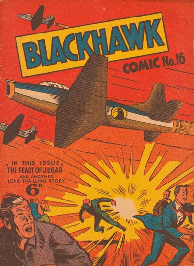 Blackhawk Comic (Youngs, 1948 series) #16 ([September 1950?])