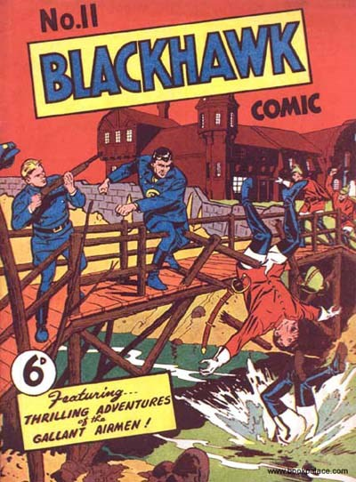 Blackhawk Comic (Youngs, 1948 series) #11 ([October 1949?])