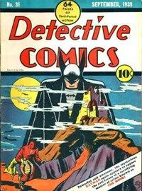 Detective Comics (DC, 1937 series) #31 (September 1939)