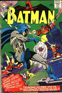 Batman (DC, 1940 series) #178 — The Rocketeers-Racketeers!