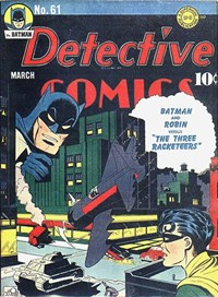 Detective Comics (DC, 1937 series) #61 (March 1942)