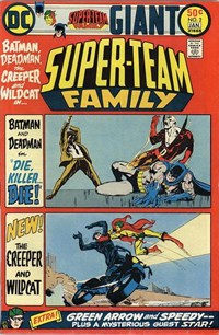 Super-Team Family (DC, 1975 series) #2 (1975-January 1976)