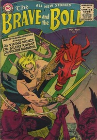 The Brave and the Bold (DC, 1955 series) #2 — Untitled