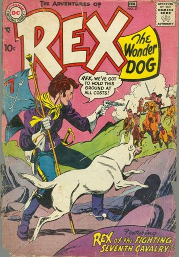 The Adventures of Rex the Wonder Dog (DC, 1952 series) #37 (January-February 1958)