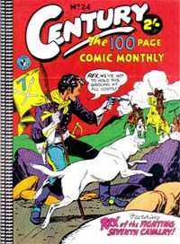 Century the 100 Page Comic Monthly (Colour Comics, 1956 series) #24 — No title recorded