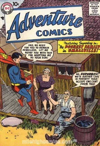 Adventure Comics (DC, 1938 series) #244 (January 1958)
