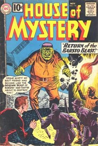 House of Mystery (DC, 1951 series) #116 — Return of the Barsto Beast!