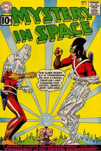 Mystery in Space (DC, 1951 series) #71 (November 1961)