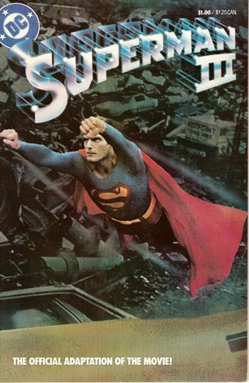 Superman III The Official Adaptation of the Movie! (Cover)