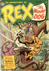 The Adventures of Rex the Wonder Dog (DC, 1952 series) #17 — Sir Rex -- Four-Footed Knight!