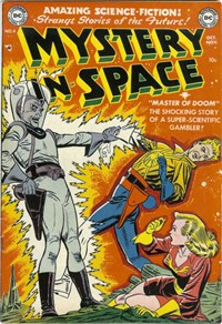 Mystery in Space (DC, 1951 series) #4 — Master of Doom (Cover)