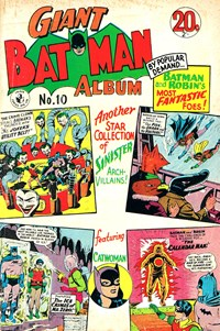 Giant Batman Album (Colour Comics, 1962 series) #10 — Another Star Collection of Sinister Arch-Villains!