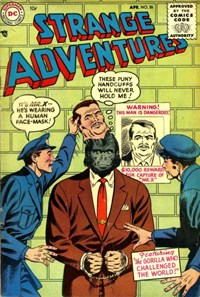 Strange Adventures (DC, 1950 series) #55 — The Gorilla Who Challenged the World!