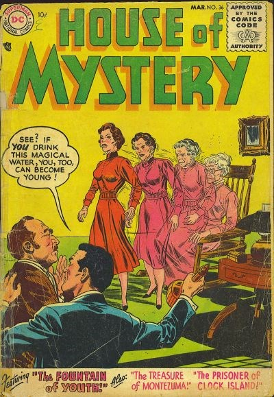 House of Mystery (DC, 1951 series) #36 (March 1955)