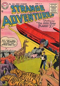 Strange Adventures (DC, 1950 series) #59 — The Ark From Planet X!