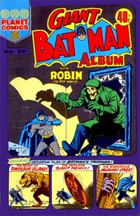 Giant Batman Album (Colour Comics, 1962 series) #30 ([1975])
