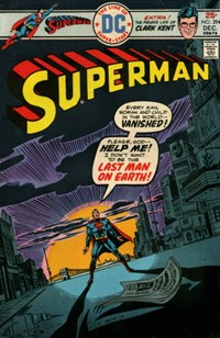 Superman (DC, 1939 series) #294 — Last Man on Earth!