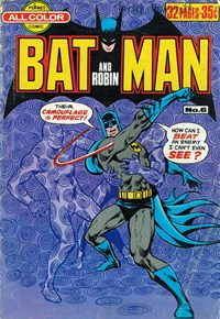 Batman and Robin (KG Murray, 1976 series) #6