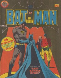 Batman and Robin (Murray, 1978 series) #16