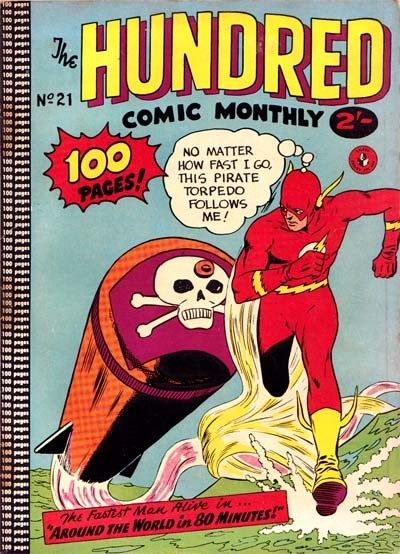 The Hundred Comic Monthly (Colour Comics, 1956 series) #21 ([June 1958?])