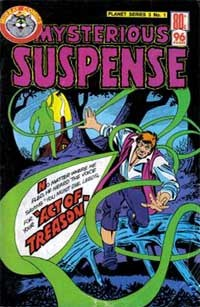 Planet Series 3 (Murray, 1980 series) #1 ([January 1980?]) —Mysterious Suspense