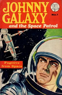 Johnny Galaxy and the Space Patrol (Colour Comics, 1966 series) #1
