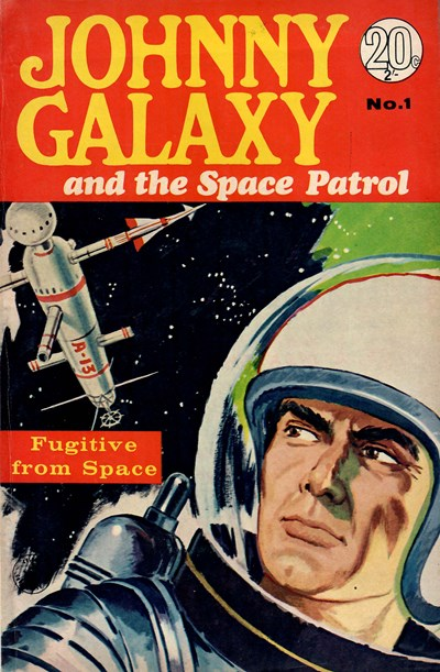 Johnny Galaxy and the Space Patrol (Colour Comics, 1966 series) #1 (1966)