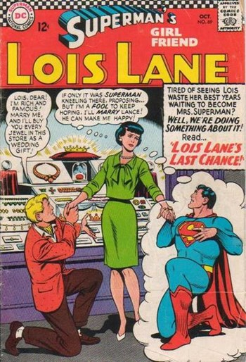Superman's Girl Friend, Lois Lane (DC, 1958 series) #69 (October 1966)
