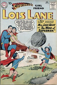 Superman's Girl Friend, Lois Lane (DC, 1958 series) #23 — The Wife of Superman!