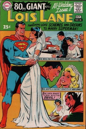 Superman's Girl Friend, Lois Lane (DC, 1958 series) #86 (October 1968)
