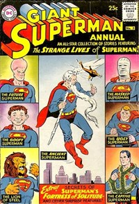 Superman Annual (DC, 1960 series) #3 — The Strange Lives of Superman!