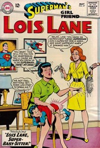 Superman's Girl Friend, Lois Lane (DC, 1958 series) #57 — Lois Lane, Super-Baby-Sitter!