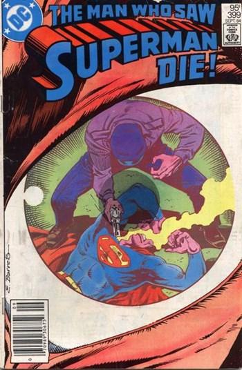 The Man Who Saw Superman Die!