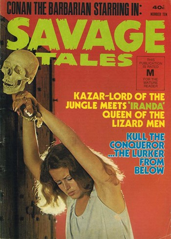 Savage Tales (KG Murray, 1972 series) #10  ([March 1976?])