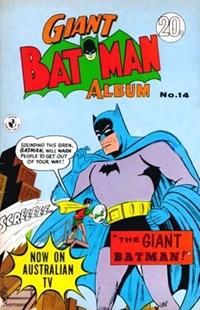 Giant Batman Album (Colour Comics, 1962 series) #14 ([November 1967?])