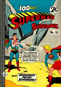Superman Supacomic (Colour Comics, 1959 series) #16 — No title recorded