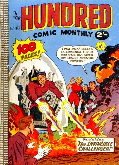 The Hundred Comic Monthly (Colour Comics, 1956 series) #30 ([March 1959?])