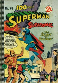 Superman Supacomic (Colour Comics, 1959 series) #28 — The Secret of Tigerman!