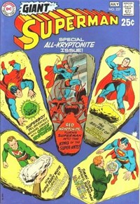 Superman (DC, 1939 series) #227 [G-72] (June-July 1970) — Special All-Kryptonite Issue!