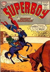 Superboy (DC, 1949 series) #42 — The Gaucho of Smallville!