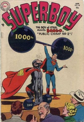 Superboy (DC, 1949 series) #38 (January 1955)